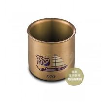 250ml純鈦雙層杯-玫瑰金