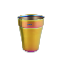 330ml可疊式雙層杯-炫彩